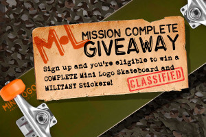 MISSION: COMPLETE GiveAway!
