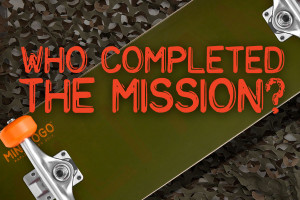 WHO COMPLETED THE MISSION?