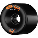 Mini Logo A.W.O.L. A-cut Black 69mm 78A 4pk