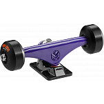 "Mini Logo Truck Assembly - 8.38"" Split Purple/Black - ML Bearings - 53mm 101a Black Wheels"