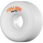Mini Logo A-cut Wheel 56mm 101a White 4pk