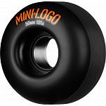 Mini Logo Wheel C-cut 50mm 101A Black 4pk