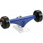 "Mini Logo Truck Assembly - 8.38"" Split Navy/White - ML Bearings - 53mm 101a Black Wheels"