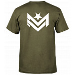 Mini Logo Chevron 2 Army Green T-shirt