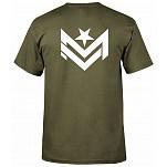 Mini Logo Chevron 2 Army Green T-shirt