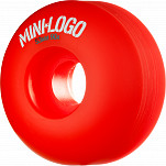 Mini Logo Wheel Hybrid C-cut 53mm 90A Red 4pk