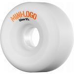 Mini Logo A-cut Wheel 58mm 97a White 4pk
