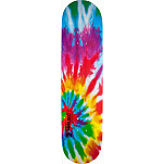 Mini Logo Small Bomb Deck 126 Tie Dye - 7.625 x 31.625