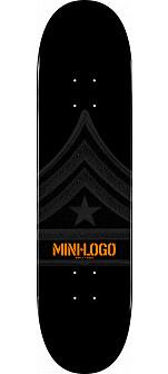 Mini Logo Quartermaster Deck 112 Black - 7.75 x 31.75