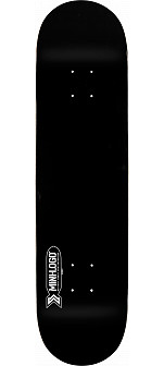Mini Logo Small Bomb Deck 124 Black - 7.5 x 31.375
