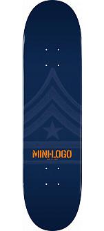 Mini Logo Quartermaster Deck 127 Navy - 8 x 32.125
