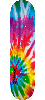 Mini Logo Small Bomb Deck 249 Tie Dye - 8.5 x 32.08