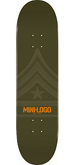 Mini Logo Quartermaster Deck 124 Green - 7.5 x 31.375