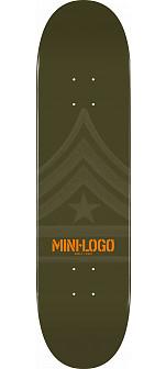 Mini Logo Quartermaster Deck 124 Green - 7.5 x 31.375
