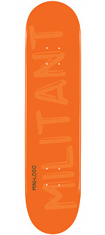 Mini Logo Militant Deck 112 Orange - 7.75 x 31.75