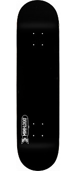 Mini Logo Small Bomb Deck 126 Black - 7.625 x 31.625