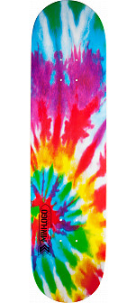 Mini Logo Small Bomb Deck 124 Tie-Dye - 7.5 x 31.375