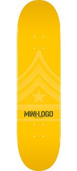 Mini Logo Quartermaster Deck 124 Yellow - 7.5 x 31.375