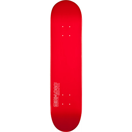 Mini Logo® 188 K12 Deck - Red