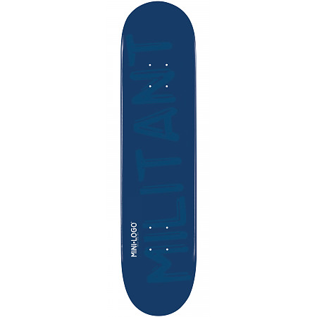 Mini Logo Deck 124 7.5&quot; Navy