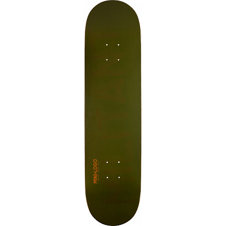 "Mini Logo Deck 191 7.5"" Green"