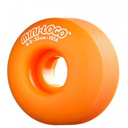 Mini Logo® S-3 53mm 101a - Orange (4 pack)