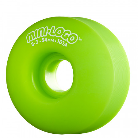 Mini Logo® S-3 54mm 101a - Green (4 pack)