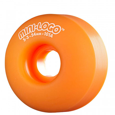 Mini Logo&reg; S-3 54mm 101a - Orange (4 pack)