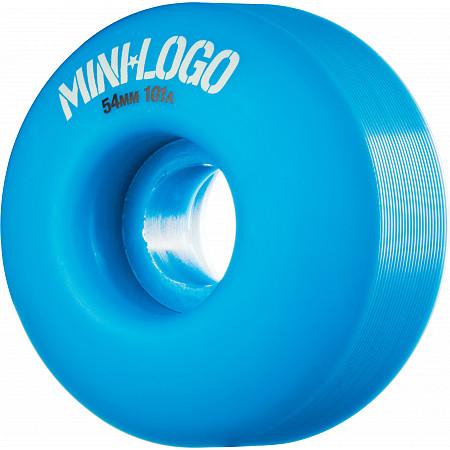 Mini Logo Wheel C-cut 54mm 101A Blue 4pk