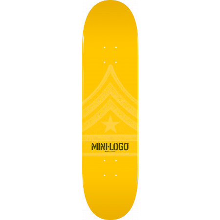 Mini Logo Quartermaster Deck 112 Yellow - 7.75 x 31.75