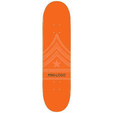 Mini Logo Quartermaster Deck 126 Orange - 7.625 x 31.625