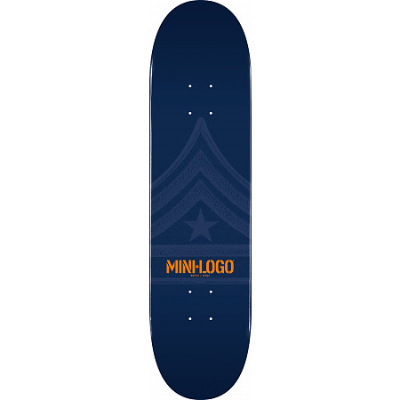 Mini Logo Quartermaster Deck 124 Navy - 7.5 x 31.375