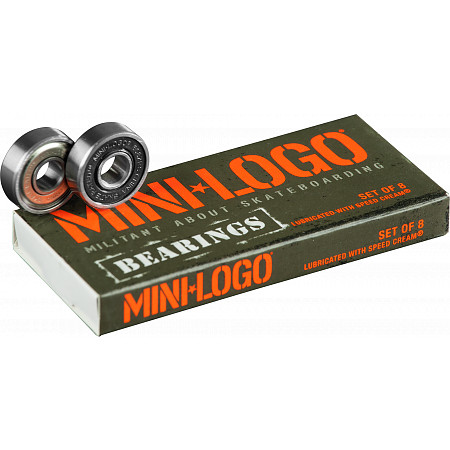 Mini Logo Bearing 8mm 8pk