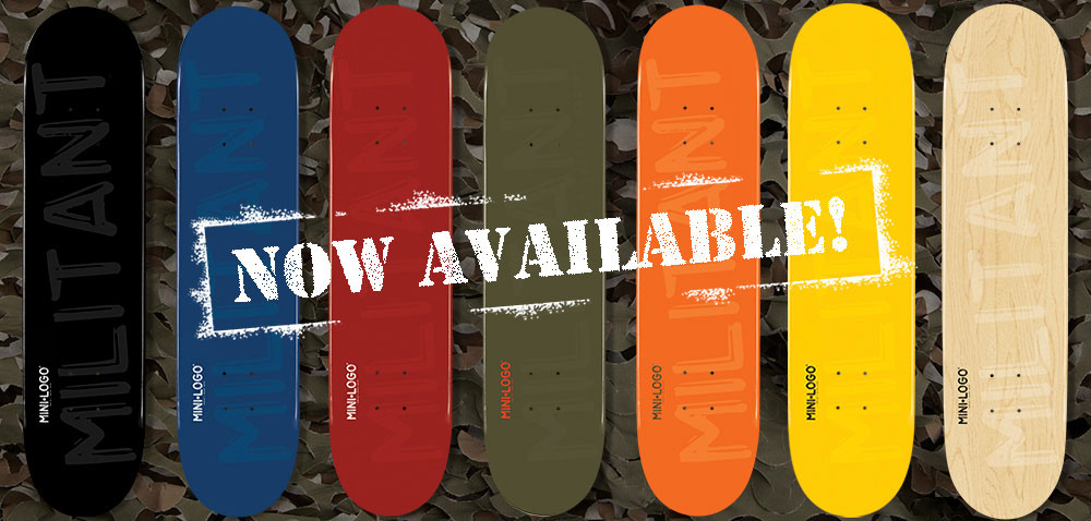 Mini Logo Skateboard Decks